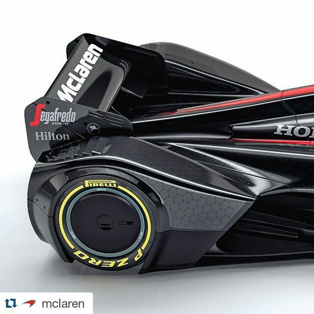There's nothing quite like a set of #PZero tyres to bring you into the race of tomorrow.  #Repost @mclaren ・・・ Introducing the #McLarenMP4X, feeding your #F1 imagination. Head to mclrn.co/mcLaren-mp4x to explore a vision of motorsport future. #Future #Concept #CanopyCar