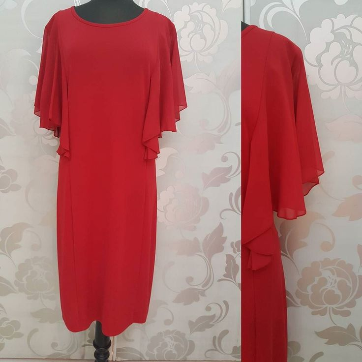 #abito #rosso #signora #valeria #abbigliamento