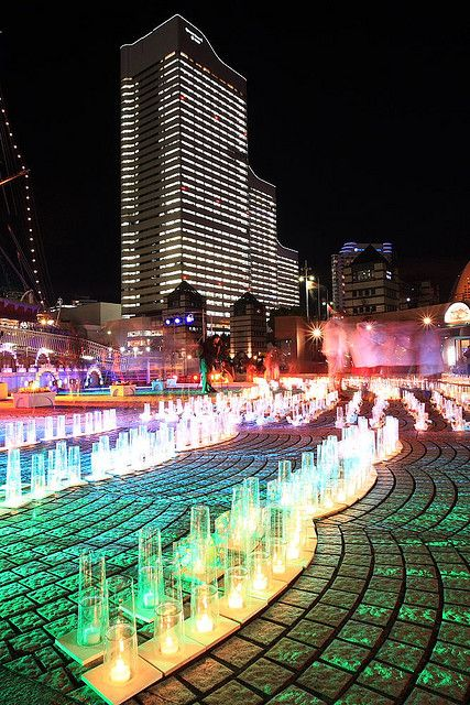 Silent Night of Candlelight, Yokohama, Japan