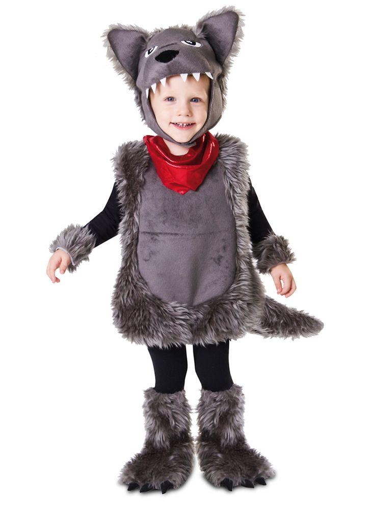 Wilde wolf kostuum voor jongens