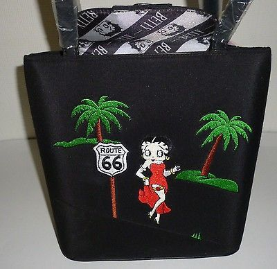 Betty Boop Route 66 Purse Handbag Character Marketing