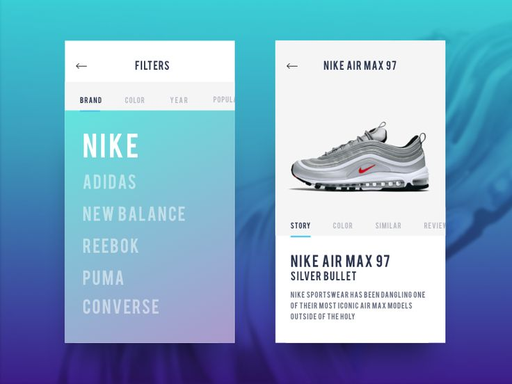 App for FootLocker by Duminda Perera