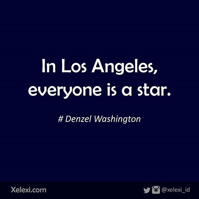 In Los Angeles, everyone is a star.. (Denzel Washington)  #travel #traveling…