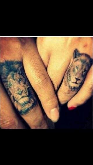 Husband wife joint tattoos