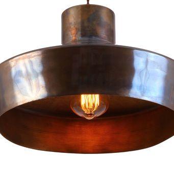 Elegance Brass Pendant Light Antique Brass