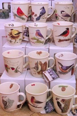 Wild Birds Unlimited: Beautiful bird mugs available at the Wild Birds Unlimited
