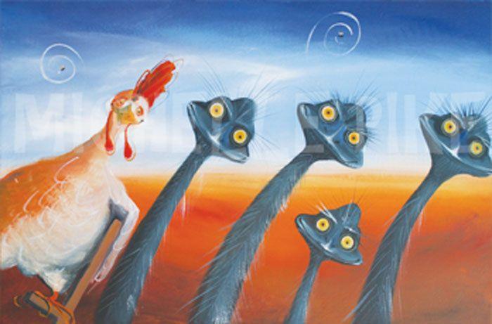 Birds of a Feather - Michelle Pike Australian Artist