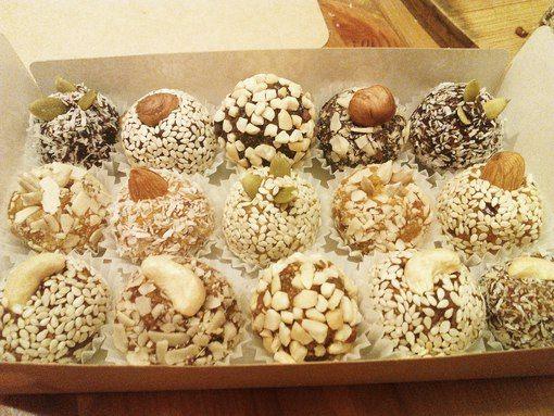 Полезные домашние конфеты из сухофруктов и ореха