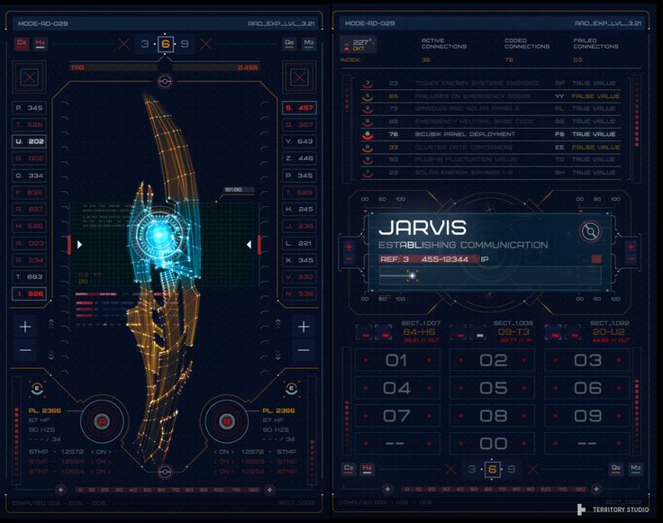 AVENGERS: Age of Ultron - UI Screen Graphics on Behance