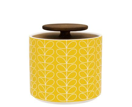Orla Kiely Linear Stem Storage Jar available at Browsers Furniture Co., Limerick, Ireland and www.browsers.ie.