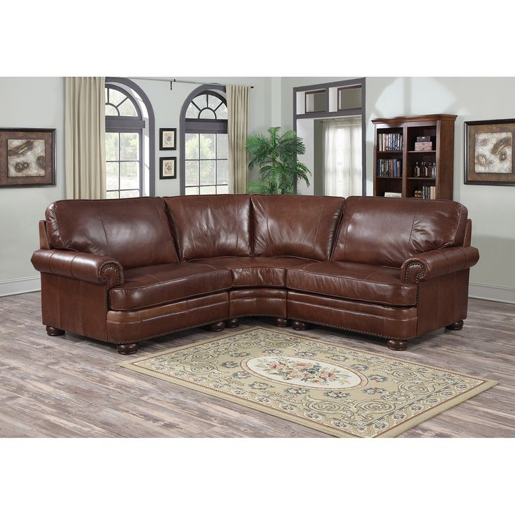 17 Best Ideas About Leather Sectionals 2017 On Pinterest