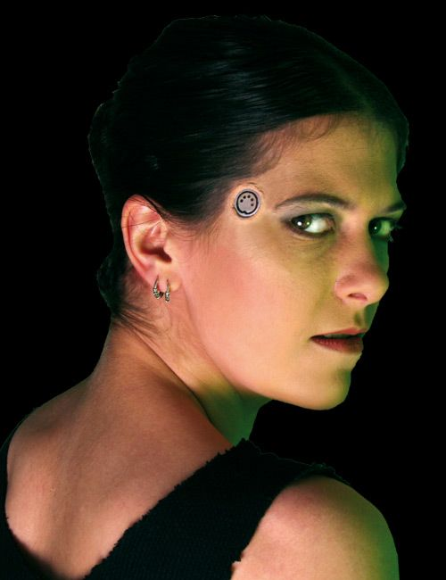 The gallery for --> Cyberpunk Makeup