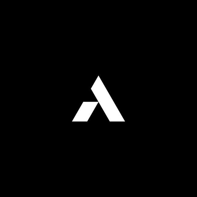 """041. Iterations of a Triangular """"A""""  Here are several concepts for a triangular letter """"A"""" that didn't make the final cut.  #graphicdesign #design #logo #wordmark #logotype #icon #identity #branding #type #typedesign #customtype #A #triangle #triangular #geometric #simpleshapes #iteration"""