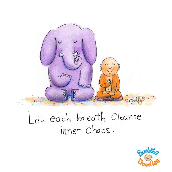 Today's Doodle: breath by breath
