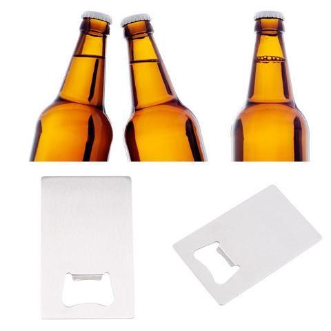 16 best cool bottle opener images on pinterest beer bottle opener wallet size stainless steel credit card bottle opener urbanlifeshop reheart Choice Image