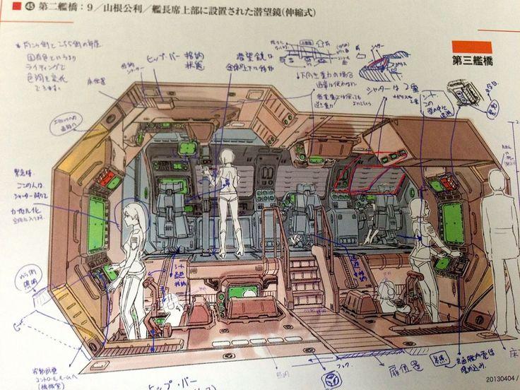 Space Battleship Yamato 2199 Cels Oficial | Leiji ...