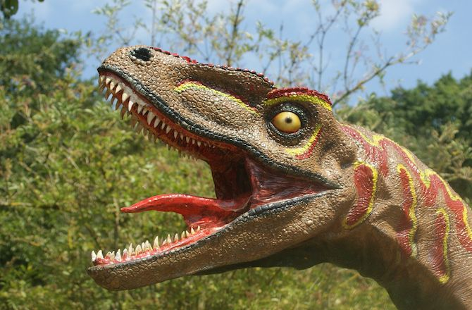 """Dinosaurs were warm-blooded animals that had many traits in common with mammals, finds controversial new research.  The study, published in the journal Science, counters other popular theories, which say that dinosaurs were either cold-blooded and reptile-like, or occupied a unique intermediate category of animals that were neither fully cold nor warm-blooded.  """"Upon re-analysis, it was apparent that dinosaurs weren't just somewhat like living mammals in their physiology — they fit right…"""