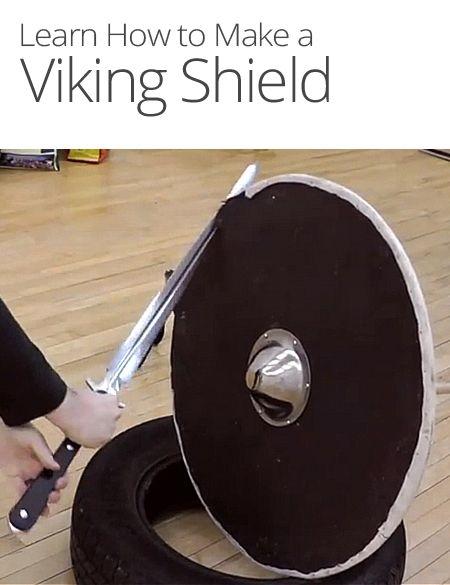 How To Make A Viking Shield