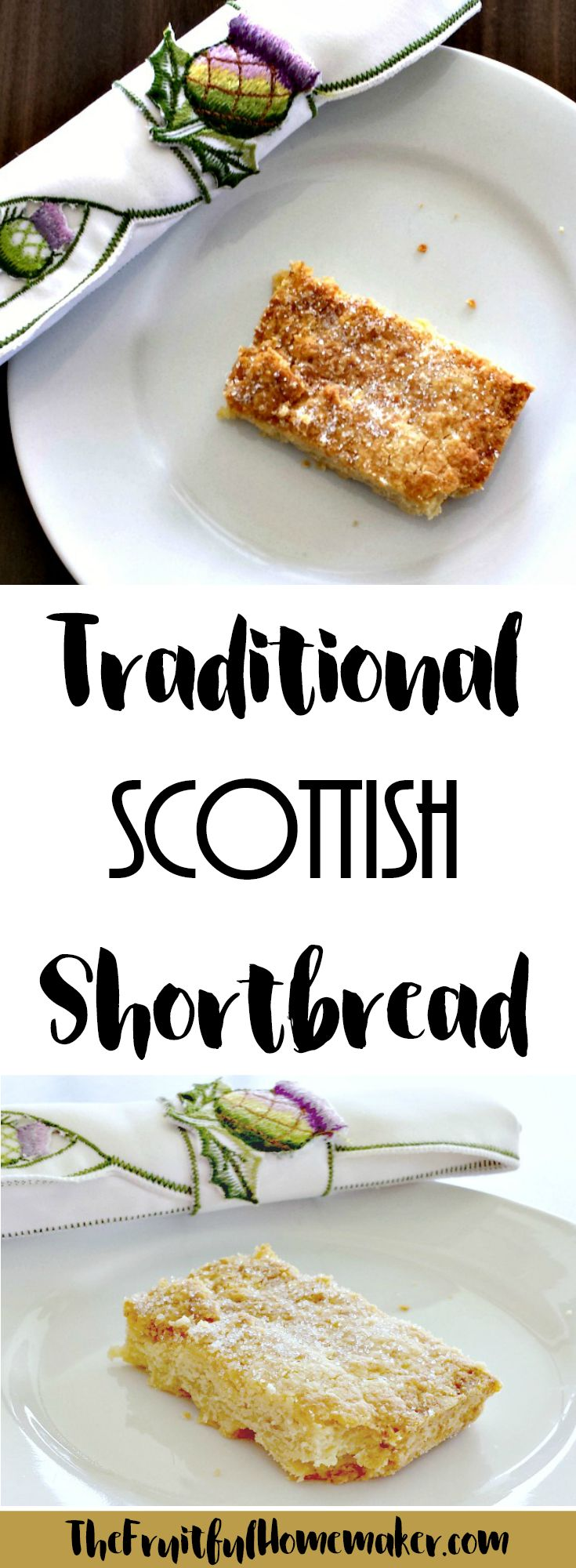 This traditional Scottish shortbread recipe is so easy to make and delicious to eat! Make into fingers or cookies. While the recipe may be simple the taste is authentic. Great for Christmas, New Year or any other celebration, or just for a snack!