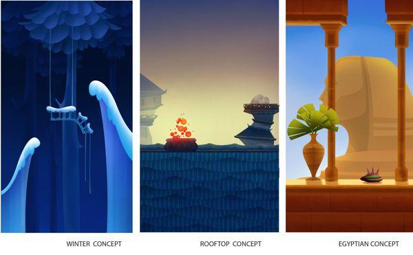Blacksmith Games: Game Concepts by Martina Crepulja, via Behance