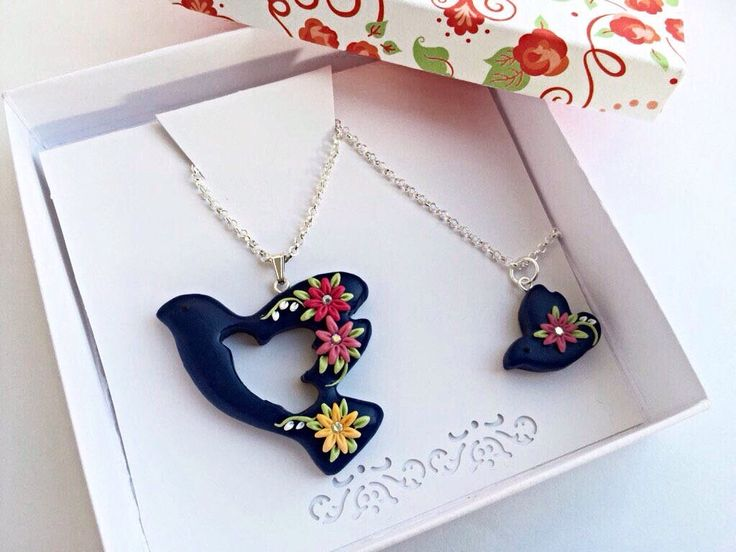 Excited to share the latest addition to my #etsy shop: Mother daughter, Doves necklace, Mothers Day, Gift for mom, From daughter to mom, Mommy and me, From son to mother, Mother and son, Birthday