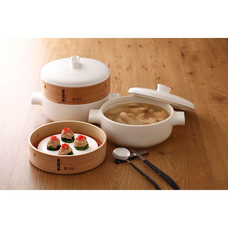 Steamer Pot and Basket Set