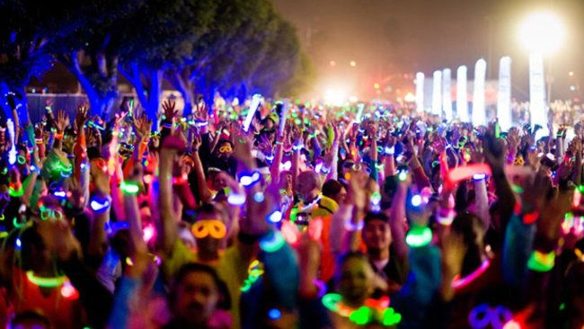 Glow Products for Glow Runs and Glow Marathons! https://glowproducts.com/ #glowrun #glowrace