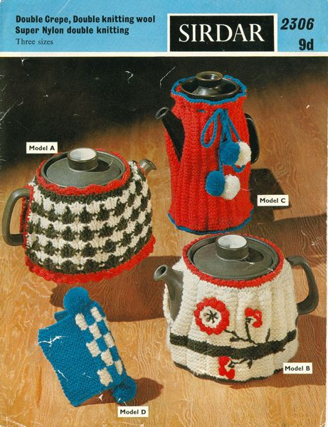Vintage Tea Cosy Knitting Patterns Free : Images about crochet teapot cozies on pinterest