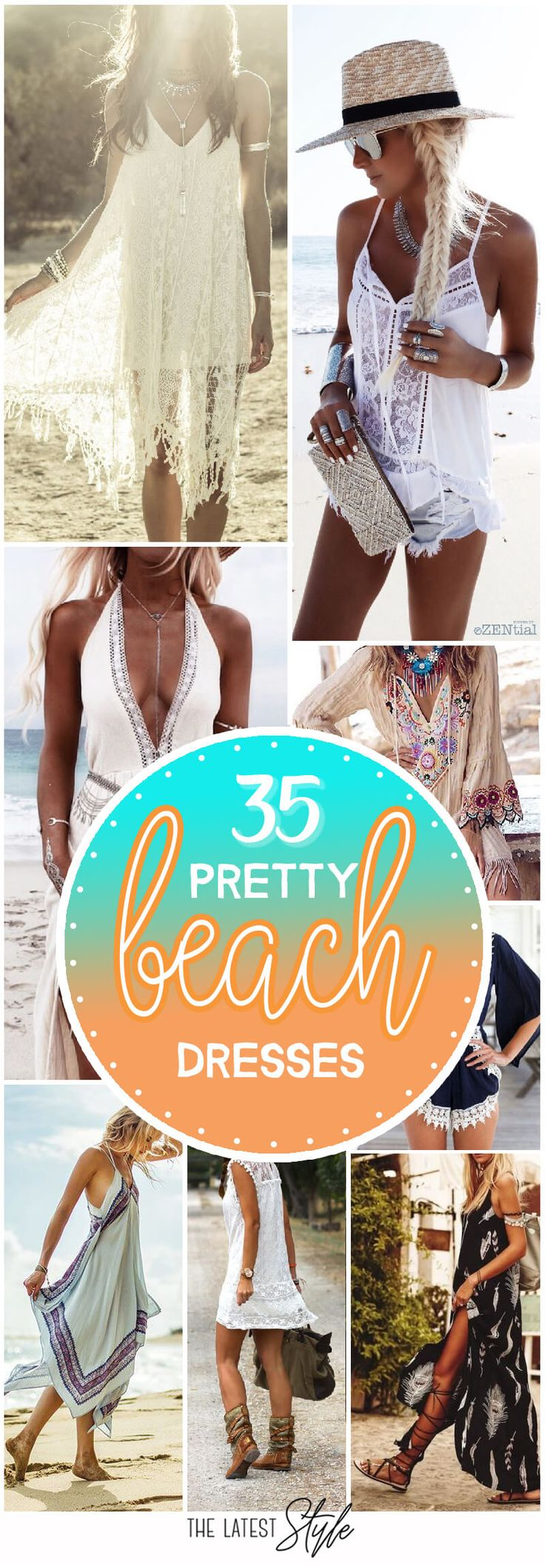35 Pretty Beach Dresses For This Summer