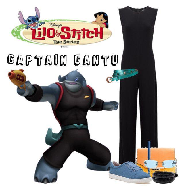 """Captain Gantu"" by allyssister ❤ liked on Polyvore featuring KamaliKulture, rag & bone, NYX, J/Slides and Chanel"