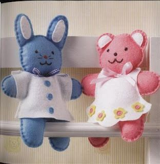 Artesanato e Cia: molde de Coelho(feltro): Bears Patterns, Ems Feltro, Felt Bunnies, De Coelho Feltro, Living Art, Andrea Living, Craft Blackboard, Art Ems, Boneca De Pano