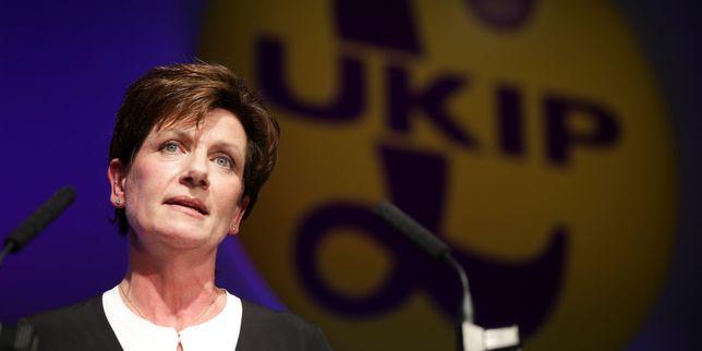 Royaume-Uni la présidente du parti europhobe UKIP démissionne - Le Monde