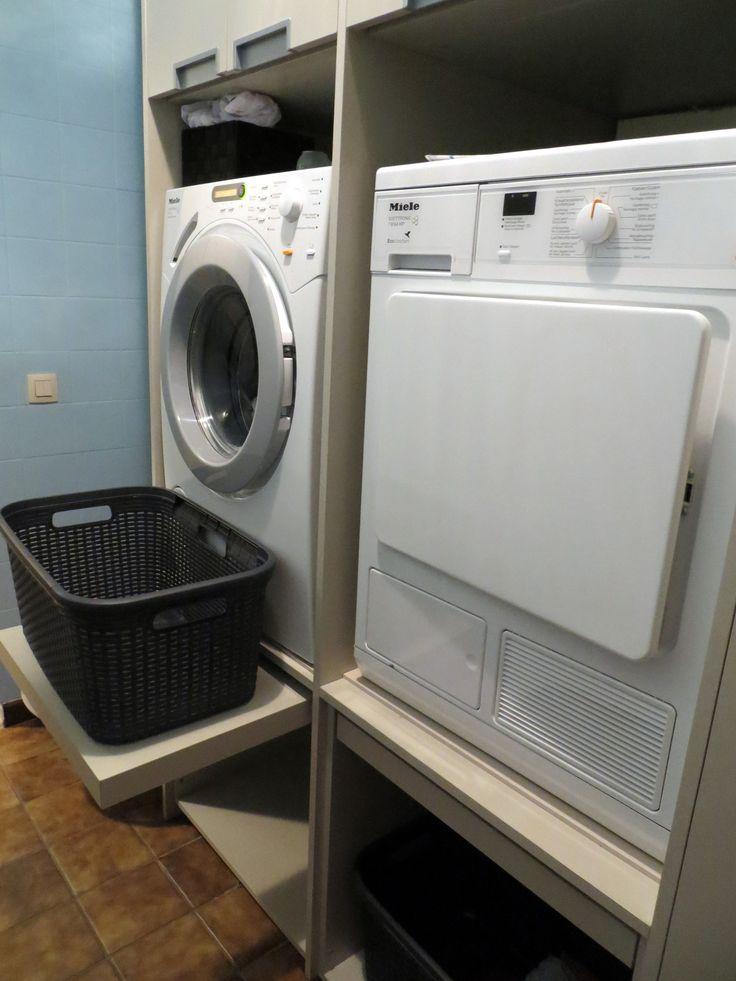 Wasplaats: uitzicht via andere zijde
