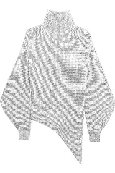 Stella McCartney | Oversized stretch wool-blend bouclé sweater | NET-A-PORTER.COM