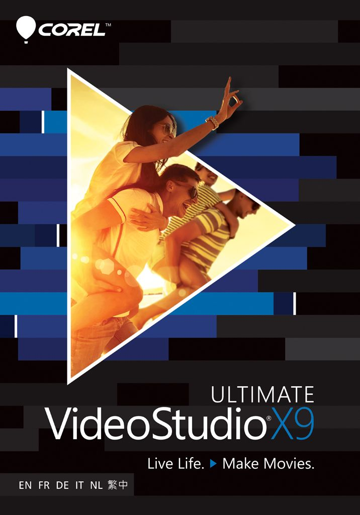 VideoStudio Ultimate X9 [Download] - E-VID.CO.UK