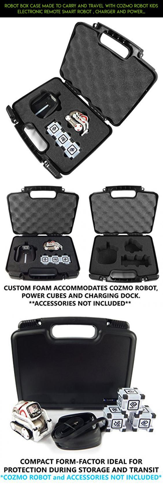Robot Box Case Made to Carry and Travel With Cozmo Robot Kids Electronic Remote Smart Robot , Charger and Power Cubes #camera #fpv #handle #drone #shopping #products #tech #parts #racing #gadgets #kit #plans #technology #case #cozmo #with