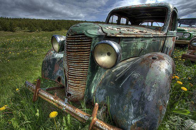 Iceland car - Samgönguminjasafnið, Ystafell
