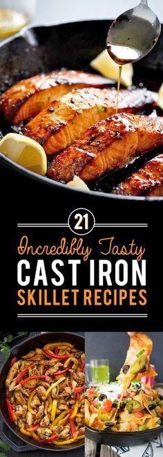 21 delicious cast iron skillet recipes!