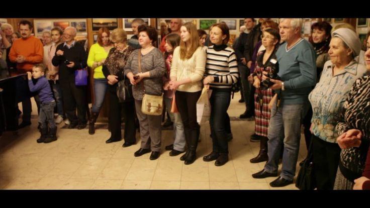Церемония открытия III выставки Дубнеских фотографов.