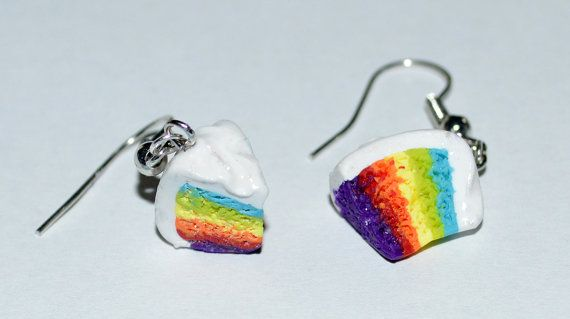 Hey, I found this really awesome Etsy listing at https://www.etsy.com/listing/192849320/rainbow-cake-polymer-clay-earrings