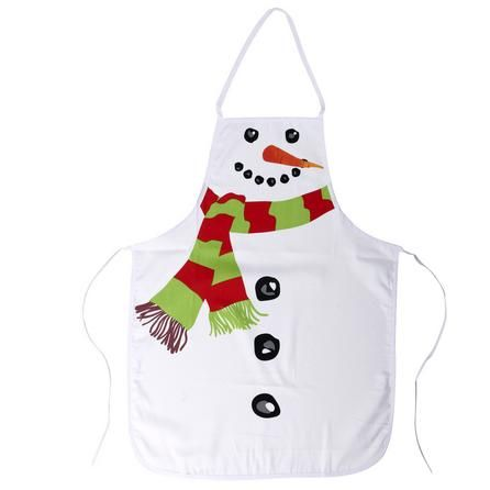 novelty snowman apron dunelm crafts pinterest. Black Bedroom Furniture Sets. Home Design Ideas