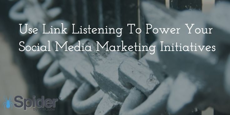 Use Link Listening To Power Your #SocialMedia #Marketing Initiatives. #content #inbound