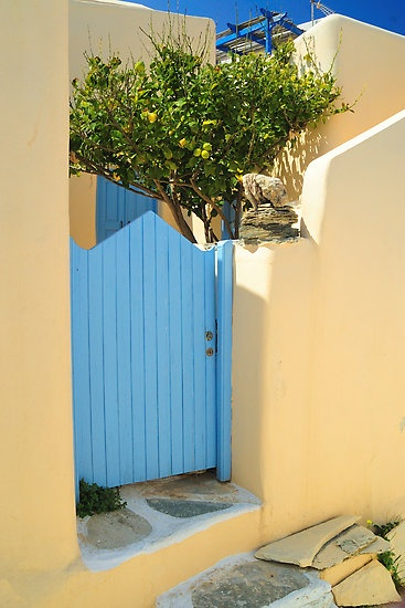 Sikinos, Greece - love this color
