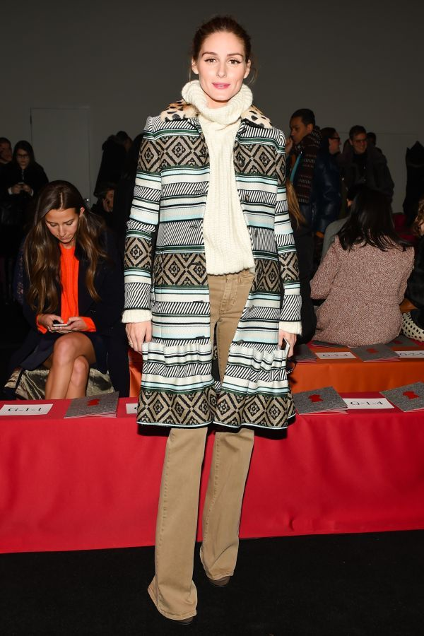 Fab Five: Cool Coats And More From NYFW's Front Row   The Zoe Report