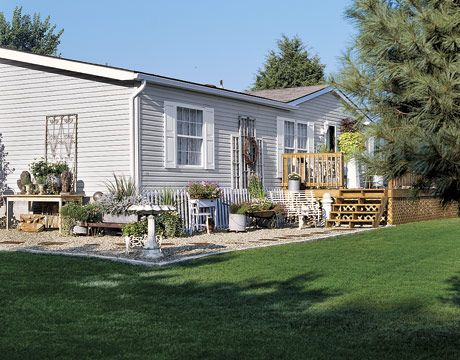 A Double Wide Mobile Home On Two Acres Of Land Offers Base For Theresa And Craig Smith Who Travel Nearly Half The Year Their Antiques Business