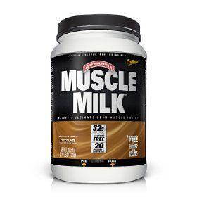 muscle milk  starting my hard workouts on monday