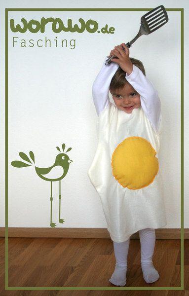 Kostüme & Verkleidung - Kinderkostüm Spiegelei - ein Designerstück von worawo bei DaWanda