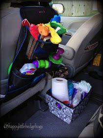 3happylittlehedgehogs: Minivan Organization Part 1