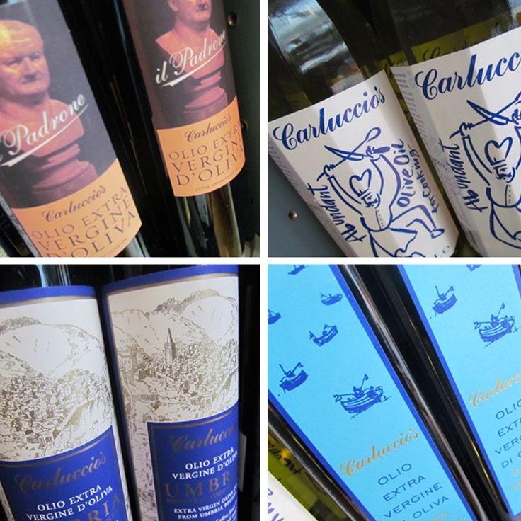 Carluccio's'ta zeytinyağları sadece lezzetleriyle değil tasarımlarıyla da cezbedici! #CarlucciosTR #olive #oil