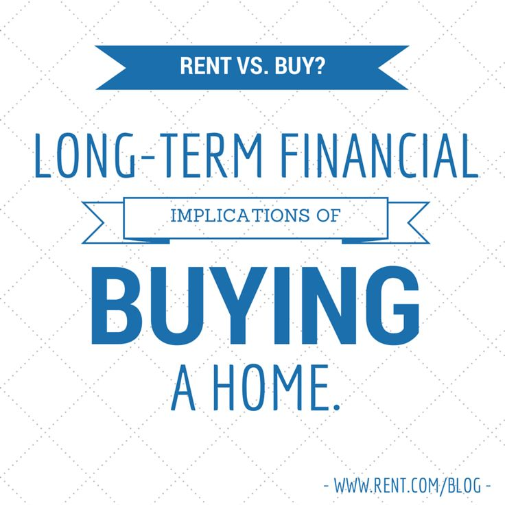 home ownership vs renting an apartment If you are currently renting a home or apartment, use our rent vs buy calculator  to help determine which option provides the most economic benefits for you.